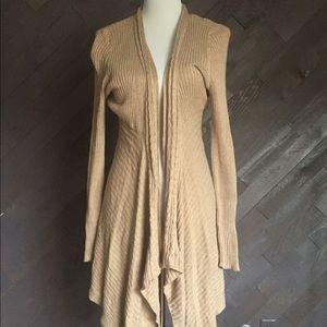 Motherhood Maternity Tan Open Front Sweater 🎀🎀🎀
